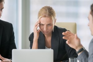 Save a meeting after tempers flare