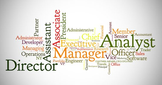What are the politics behind your job title?