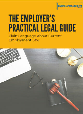 The Employer's Practical Legal Guide: Plain language about current employment law