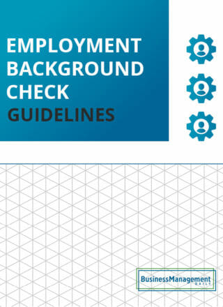 Employee Background Check Guidelines