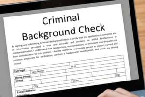 Criminal background checks in the Ban the Box era