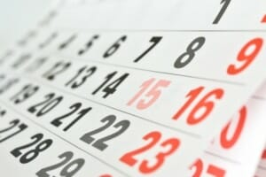 Choose best method to set FMLA calendar