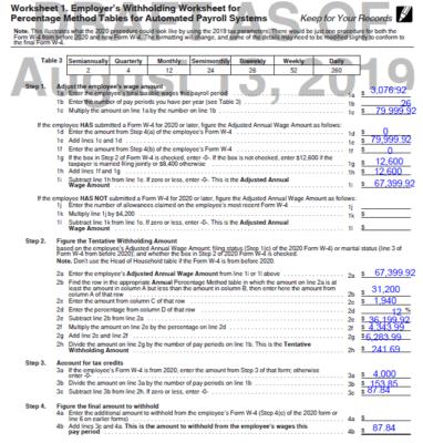 Worksheet 1 W4 Draft
