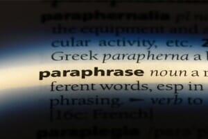 Leadership communication: Praise for the paraphrase