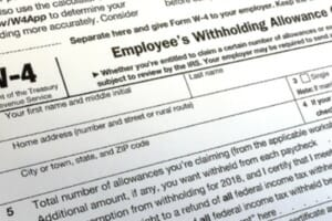 How to comply with the 2020 W-4 and withholding changes