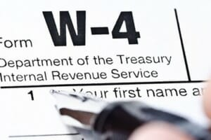 Proposed regulations for new W-4 and withholding process focused on accuracy