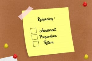 Back-to-work checklist: Steps to consider in emerging from a shutdown