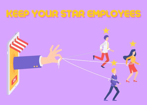 employee retention, retention 556x400 employees performing well