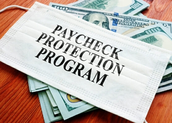 PPP loan, paycheck protection plan loan, PPP questionnaire, small business administration questionnaire 556x400