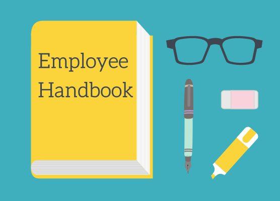 employee handbook sample language 556x400