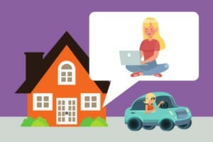 Do you have to pay remote employees for time spent running errands?