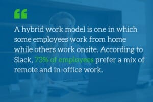 Key considerations before moving to a long-term hybrid work model